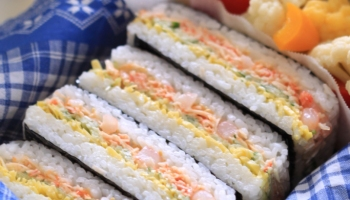 Sandwich reciperice recipe super easy step sushi sandwich masas japanese foodsushi recipebento recipe sushi sandwich bento forumfinder Choice Image