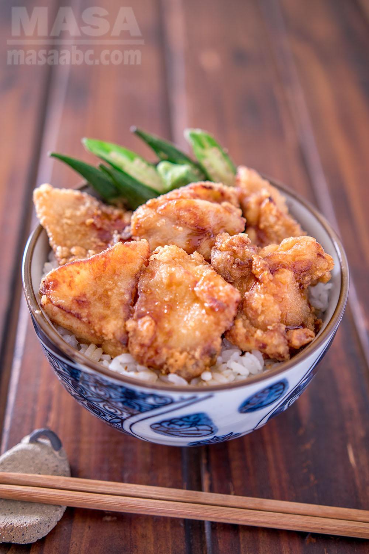 Japanese recipes chicken donburi